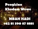 Pengisian Khodam Wewe