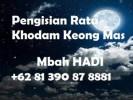 Pengisian Ratu Khodam Keong Mas
