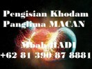 Pengisian Khodam Panglima MACAN